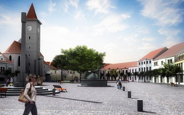 Revitalizace náměstí Míru, Horažďovice