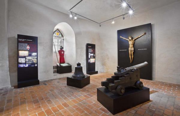 Expozice Maltézských rytířů a Rožmberků